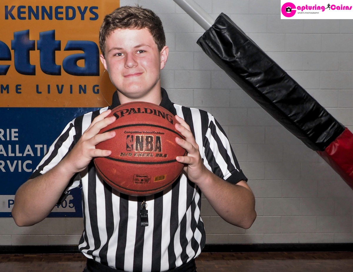 Riley Chapman-Basketball Referee